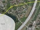 Wie genau die Straßentrasse Richtung Schweiz in Brugg geführt werden soll, ist noch nicht fixiert.