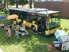 Am kommenden Samstag kommt bei guter Witterung der Stadtbus Feldirch für Informationen direkt ins Erlebnis-Waldbad Gisingen.