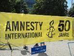 Amnesty International setzte ein Zeichen