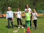 Astrid Zandveld und die Mädchen hatten viel Spaß.