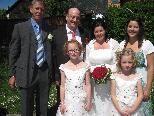 Auf dem Standesamt in Bludenz haben Anita Silvia Sauermoser und Wolfgang Kurt Walser geheiratet