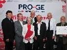 BV Rainer Wimmer, Erich Scherbantie, Elisabeth Schuler, LV Norbert Loacker, Florian Grabherr, Raimund Weber und Joachim Macek