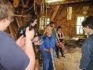 Besuch der HiPos-Lehrlinge in der ehemaligen Skiwerkstatt Schallert.