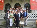 Besucher des Jüdischen Museums in Hohenems
