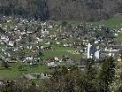 Blick von Obergantschier nach Vandans am 15. April 2011
