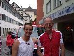 Bruno Franzoi und Hannes Wittwer vor dem Start!