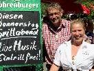Christine und Jürgen Hehle laden zum gemütlichen Dämmerschoppen an den Bodensee.