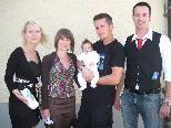 Colin Niklas Jesacher erhielt die heilige Taufe
