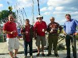 Das Bootsrenovierungsteam des Yachtclub Bregenz