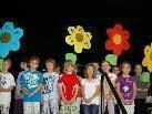 Das Festprogramm der Kinder war ein großes DANKE für alle Verantwortlichen des gelungenen Baus.