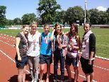 Das siegreiche Leichtathletik-Team des BORG Egg.