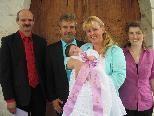 Davina Ilesic´ wurde in der St. Anna Kirche getauft
