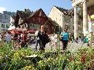 Der Dornbirner Wochenmarkt steht mit seinen regionalen Produkten für Frische und Qualität und ist ein traditioneller Anziehungspunkt für viele Stadtbesucher.