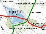 Der Plan für das Egelsee-Hochwasserrückhaltebecken und Biotop