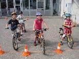 Die Absolvierung des Parcours machte den Kindern großen Spaß