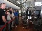 Die Besucher erhielten interessante Einblicke in den Produktionsablauf.