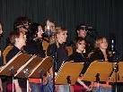 Die Chorsängerinnen und -sänger begeisterten mit gefühlvollen Balladen.