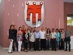 Die Gäste aus Dalaas formierten sich zum Gruppenfoto.