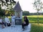 Die Marien-Gedenkstätte soll Radfahrer und Wanderer zu einem stillen Gebet innehalten.