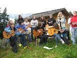 """Die Mitglieder des """"Chörle Vrwäga"""" proben bereits intensiv für ihr erstes Konzert."""