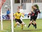 Die Nr. 7, Emir Adzamija, trifft in der 56. Minute zum 2:0 für den FC Viktoria Bregenz.