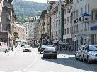 Die Rathausstraße in Bregenz