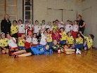 Die U11 Mädchen des HC Lustenau