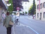 Die Verkehrssituation und Gestaltung der Innenstadt sorgt in Hohenems für regen Diskussionsstoff.