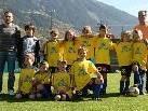 Die aktuelle U9 Mannschaft vom Golm FC Schruns