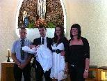 Dornbirn. Cheyenne Klehenz wurde am 22. Mai von ihren Eltern Nicole Fitz und Bernd Klehenz in der Kapelle Mühlebach zur Taufe getragen. Die Paten der kleinen Cheyenne sind Janine Fitz und Daniel Klehenz.