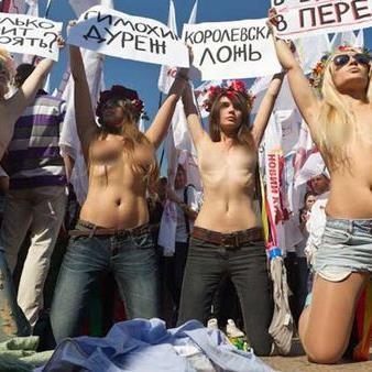 Femen zeigen Haut und provozieren: Die Aktivistinnen machen so auf ihre Themen aufmerksam.