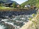 Fischpassierbare Rampe im Mellenbach