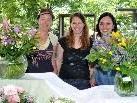 Gemäß der Jahreszeit lag ein Schwerpunkt bei Garten und Floristik.