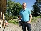 Geschäftsführer Karl-Heinz Fink am neuen Standort