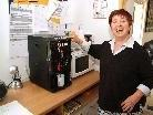 Haben ihre Gaude mit dem neuen Getränkeautomaten: die Rahab - Bewohner.