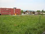 Hier wird das neue Pflegeheim Birkenwiese gebaut. Spatenstich ist im Februar 2012.
