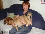 Imelda Bergauer bietet alten und kranken Tieren ein liebevolles Zuhause