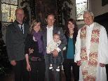 Jona Jason Maximilian Burtscher wurde in der Dreifaltigkeitskirche getauft