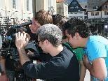 """Jugendliche drehten Kurzfilme zu Themen wie """"Müll"""" und """"Lärm""""."""