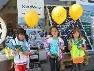 Jung und Alt beim Solar-Energie-Informationstag in Lochau.