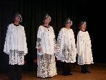 Kritisch, komisch, kreativ - die Kirchenfrauen in ihrem Element.