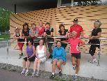 Laufen ist nicht nur gut für die Gesundheit, sondern macht allen auch viel Spaß.