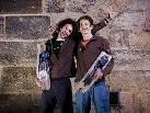 Mark Amann und Konrad Mathis klettern für Nadine Beiler