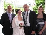 Melanie Tirler und Marcus Reinhardt heirateten