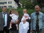 Philipp Wachter erhielt das Sakrament der Taufe