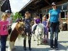Ponyreiten war bei den Kleinen besonders beliebt