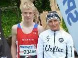 Schlossberglauf-Sieger 2011: Jakob Mayer und Yvonne Van Vlerken.