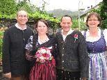 Ulrike Kathan und Roland Duller heirateten