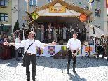 Um 12 Uhr wurde das Feldkircher Montfortspektakel feierlich eröffnet!