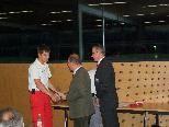 Verleihung Fahrtenspange Michael Hartmann